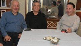 GMG Kastamonuspor Onusal Başkanı İş Adamı Cengiz Aygün'e geçmiş olsun ziyareti