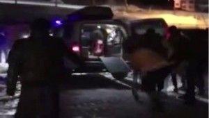 Kalp krizi geçiren vatandaşın imdadına polis helikopteri yetişti
