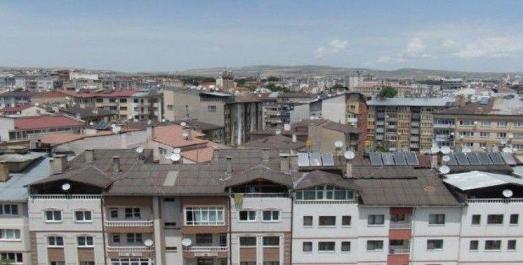 Sivas'ta konut satışları yüzde 52 oranında arttı