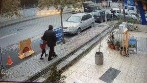 Lüks cipe silahlı saldırı kamerada