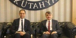 İl Sağlık Müdürü Erşan'dan Rektör Uysal'a ziyaret