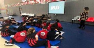 Turgutlu Belediyesi Spor Akademisinde anlamlı eğitim