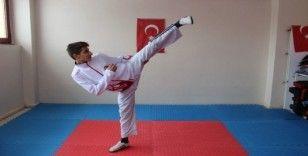 17 yaşındaki Milli tekvandocunun hedefi Dünya şampiyonluğu