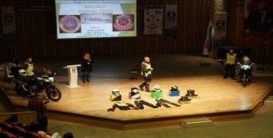 Bodrum'da lise öğrencilerine 'Kaskımla Güvendeyim' semineri verildi