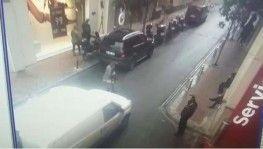 Kavga esnasında kontrolden çıkan araç yaşlı kadını ezdi