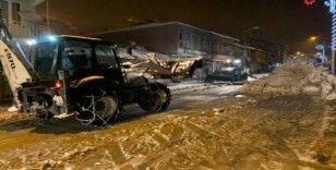 Beytüşşebap'ta karla mücadele çalışmaları