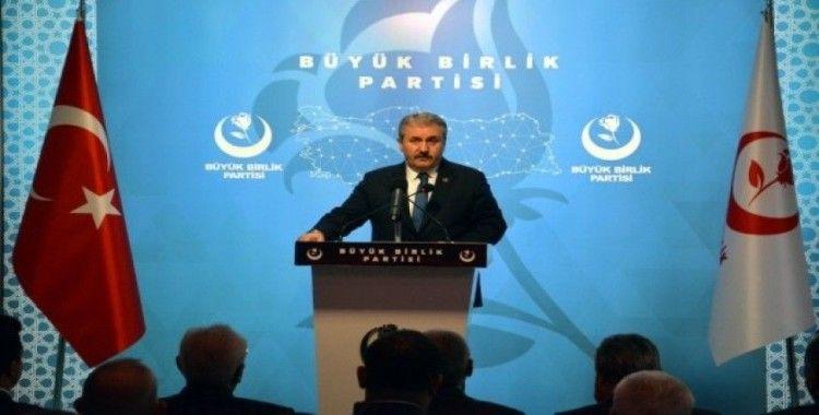 BBP Genel Başkanı Destici: 'Yeni bir darbe girişimine ihtimal vermiyoruz'