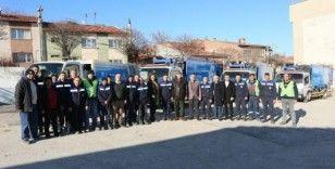 Odunpazarı Belediyesi 14 mahallede geri dönüşüm atığı toplamaya başladı