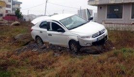 Sancaktepe'de hırsız polis kovalamacası kazayla sonlandı