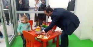 Şarköy Devlet Hastanesi'nde çocuk kütüphanesi ve oyun alanı açıldı