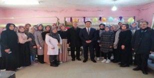 Midyat'ta 40 kadın ipek dokuma kursunda meslek sahibi olacak