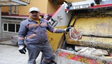 Çöp konteynerinde yeni doğmuş bebek bulan işçi konuştu