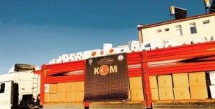 Konya'da 6 bin 810 kilogram tütüne el konuldu