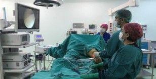 Finike Devlet Hastanesin'ne yeni artroskopi cihazı