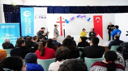 Türkiye'nin yüz akları Yunus Emre Enstitüsü ve TİKA'dan anlamlı proje