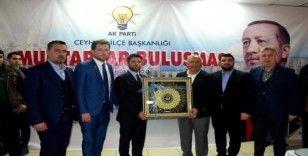 AK Parti Teşkilatı Ceyhanlı muhtarlarla buluştu