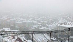 Sivas'ta sis etkili oldu