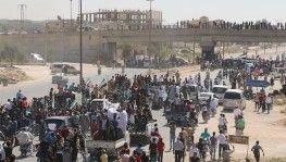 İdlib'de Suriyelilerden uluslararası aktörlere çağrı