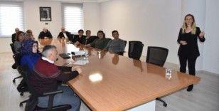 Belediye personeline sigarayı bırakma semineri düzenlendi