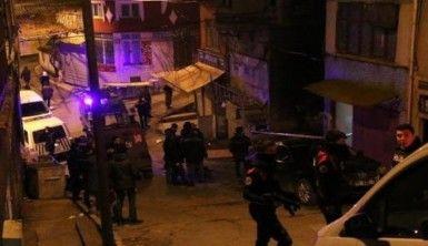 Beyoğlu'nda korkutan patlama kamerada
