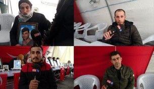 Diyarbakır'da evlat nöbetindeki ailelerin direnişi büyümeye devam ediyor