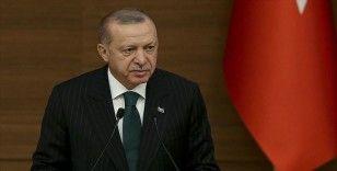 Cumhurbaşkanı Erdoğan Macron ve Merkel ile görüştü