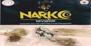 Nevşehir'de uyuşturucudan 1 kişi tutuklandı