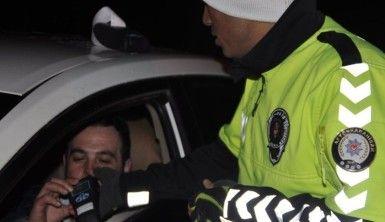 Jandarma ve Emniyet Trafik ekiplerinden alkol denetimi