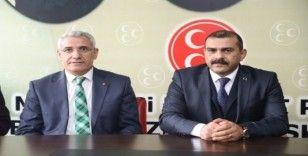 Başkan Güder'den MHP'li İlhan'a hayırlı olsun ziyareti