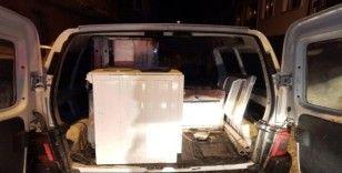 Jandarmanın durdurduğu araçtan çalıntı eşya çıktı: 3 tutuklama