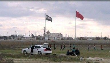 Güvenli hale gelen sınır hattı piknik alanına döndü