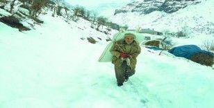 Şırnak'ın dağ köylerinde zorlu yaşam