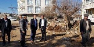 Başkan Kılınç, Kemalpaşa Caddesindeki çalışmaları inceledi