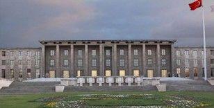 21. Dönem Çankırı Milletvekili İrfan Keleş için TBMM'de tören düzenlendi