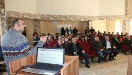 """Edremit'te belediye personeline """"korona virüsü"""" eğitimi"""