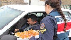 Jandarma uygulama yaptı, vatandaş memnun oldu