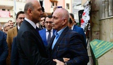 Bakan Soylu, Trabzon'da cenaze namazına katıldı