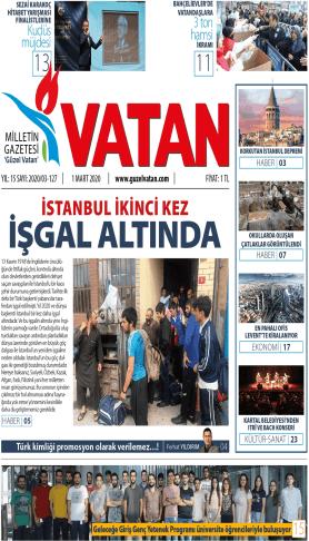 Güzel Vatan Gazetesi Sayı:126