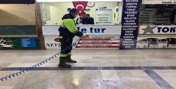 Kastamonu Belediyesi Salgın Hastalıklara karşı mücadele başlattı