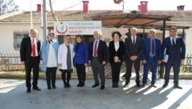 Bakanlıktan gelen heyet sağlık kuruluşlarına ziyaret gerçekleştirildi