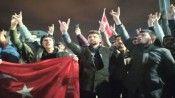 Cumhuriyet Üniversitesinde askerimize saldırı protesto edildi