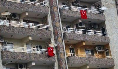 Belediyeden vatandaşlara 'Türk Bayrağı asın' anonsu