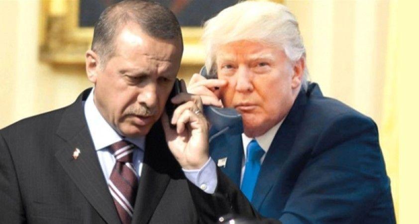 Erdoğan ve Trump İdlib'i görüştü