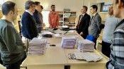 Bilecik İl Milli Eğitim Müdürü Çelik, AR-GE'yi ziyaret etti