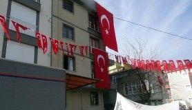Şehit ateşi Sancaktepe'ye düştü