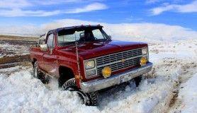 Kışın keyfini 4x4 araçlarla safari yaparak çıkartıyorlar