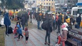 Göçmenler Edirne'ye akın ediyor