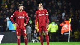 İngiltere Premier Lig'de Liverpool ilk kez yenildi