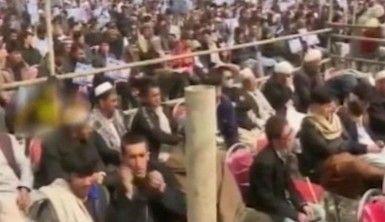 Kabil'de siyasilerin katıldığı törene saldırı