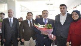 Eski Bakan Eroğlu memleketi Şuhut'ta tekstil atölyesinin açılışına katıldı